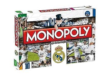 Eleven Force Juego Monopoly Real Madrid CF 10186: Amazon.es ...