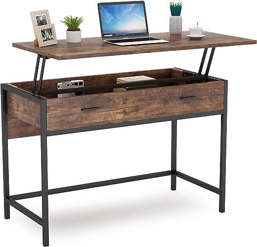 Lift Top Computer Schreibtisch Industrieller Schreibtisch Schreibtisch Schreibtisch Laptop Tisch PC Schreibtisch Computer Workstations...