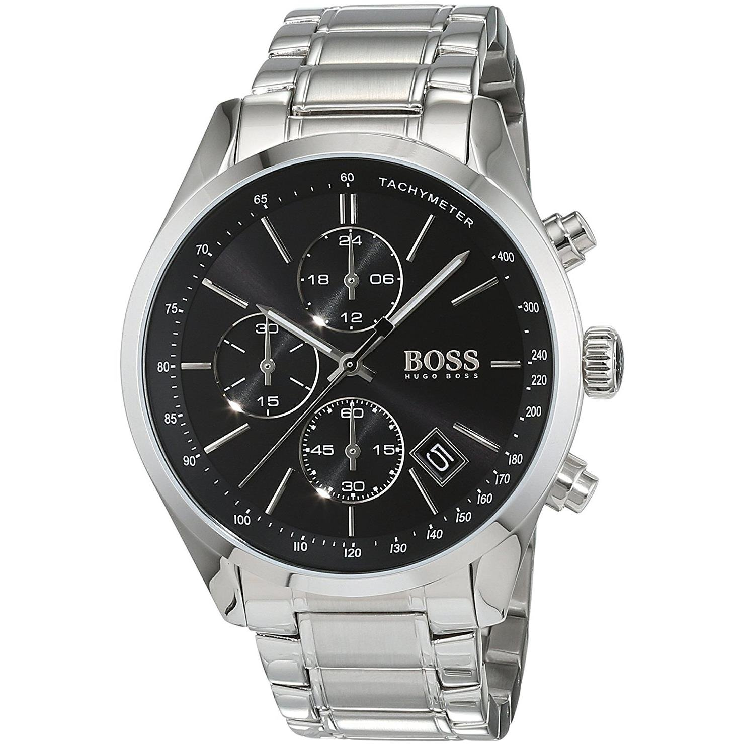 Hugo Boss GRAND PRIX 1513477 Mens Chronograph Classic Design by Hugo Boss