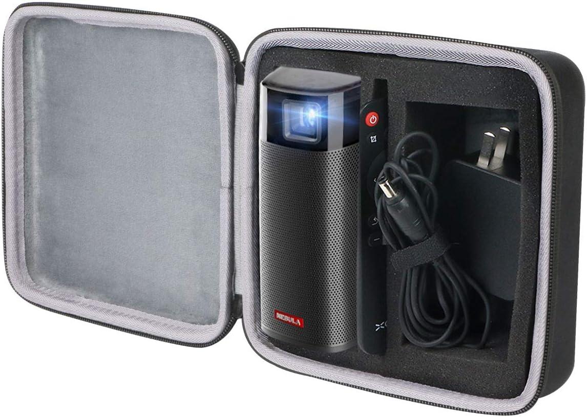 co2crea Hard Travel Case for Anker Nebula Apollo Wi-Fi Mini Movie Projector Portable Projector 6W Speaker