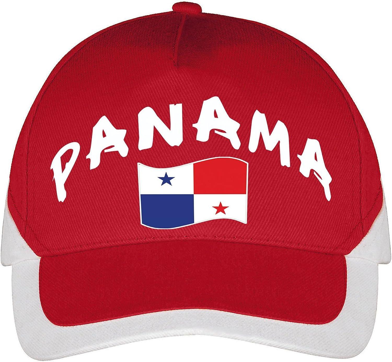 Supportershop – Gorra Panamá fútbol, Rojo, FR: Talla Unique (Talla ...