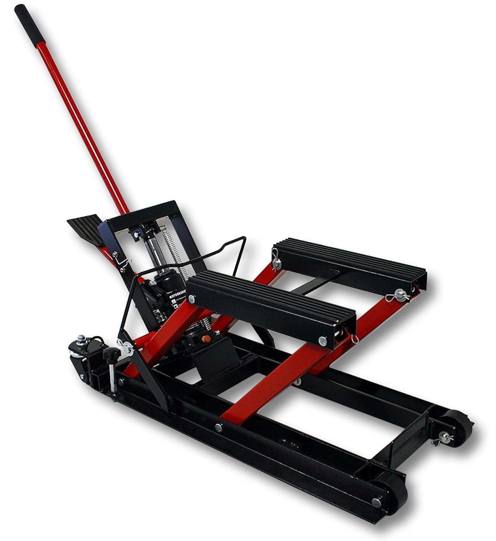 WilTec 680kg Pont É lé vateur Plateforme É levatrice Moto Support Montage Levage ATV Quad 50799