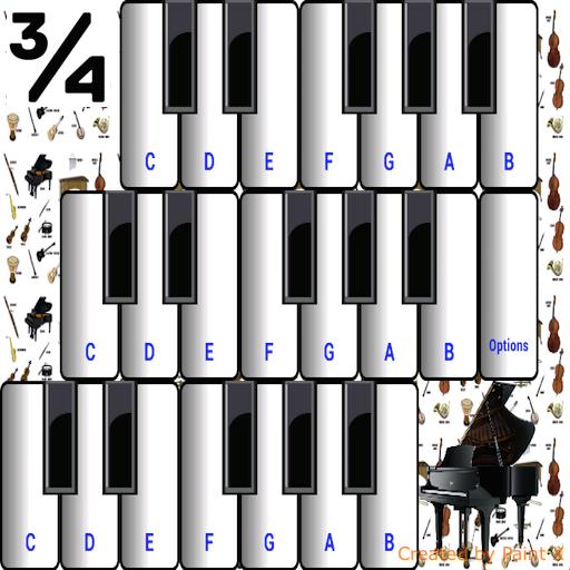 (¾ Music Instruments)
