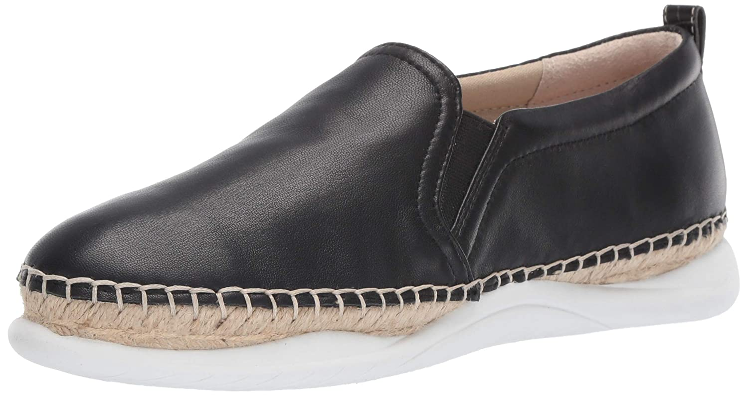 Black Leather Sam Edelman Womens Kassie Sneaker