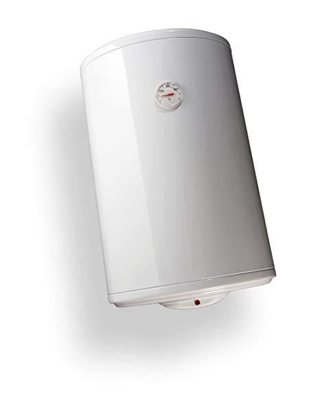 Bandini Braün - Calentador eléctrico cilíndrico, vertical, con ánodo de magnesio y válvula de