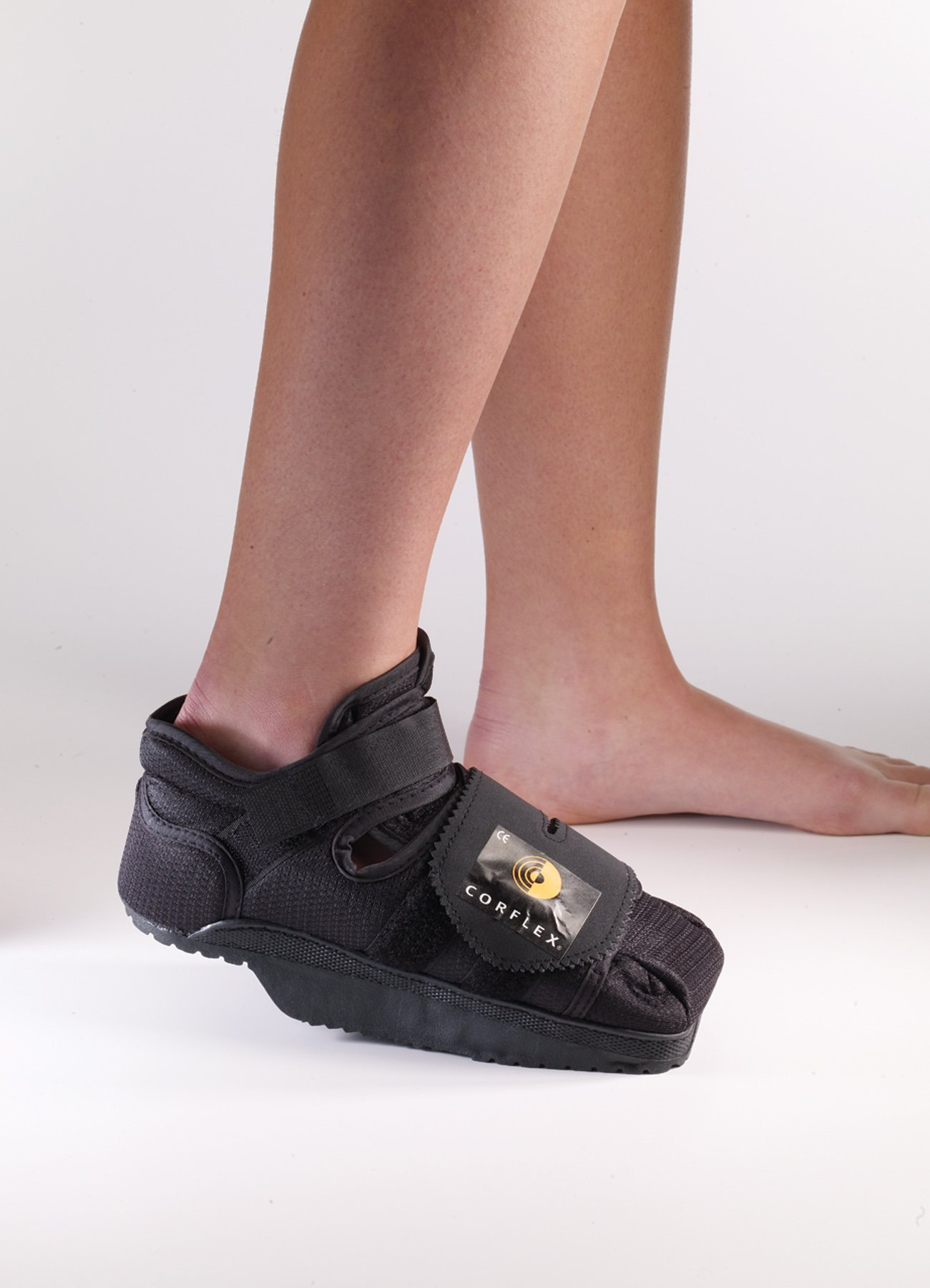 Foot Care Heel Wedge Healing Shoe - Large