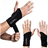 Copper Compression Recovery Wrist Brace - Guaranteed Highest Copper Content Support for Wrists, Carpal Tunnel, Arthritis, Ten