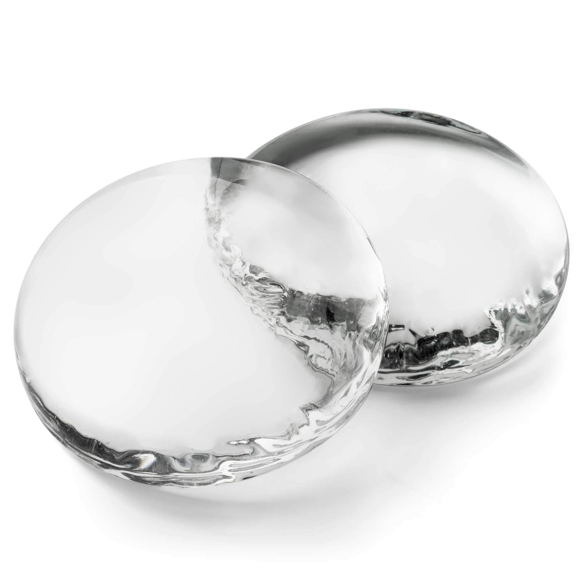 Gemnique 3X-Large Molded Glass Gems - Clear (48 oz.) by Gemnique