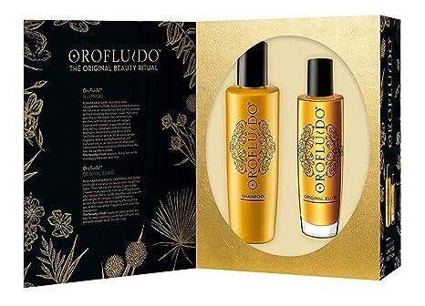 Orofluido BF-8432225105703 Pack Elixir 100 ml + Shampoo 200 ml: Amazon.es