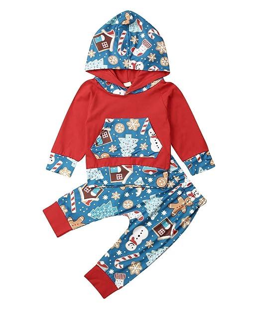 Amazon.com: Conjunto de ropa de invierno con capucha y ...