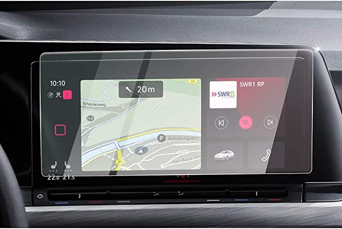Cdefg Für V W Golf 8 2020 Auto Navigation Tempered Glas Elektronik