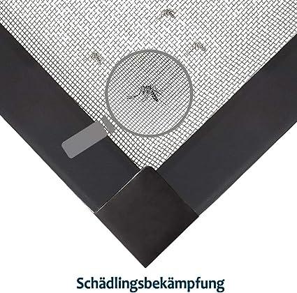 sin agujeros ni tornillos mosquitera marco de aluminio mosquitera Mosquitera de UISEBRT para ventanas