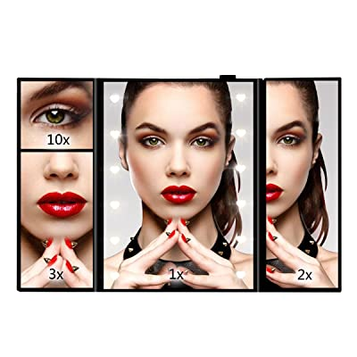 Makeup Mirror, Sanvaree Portable Vanity Mirror ...