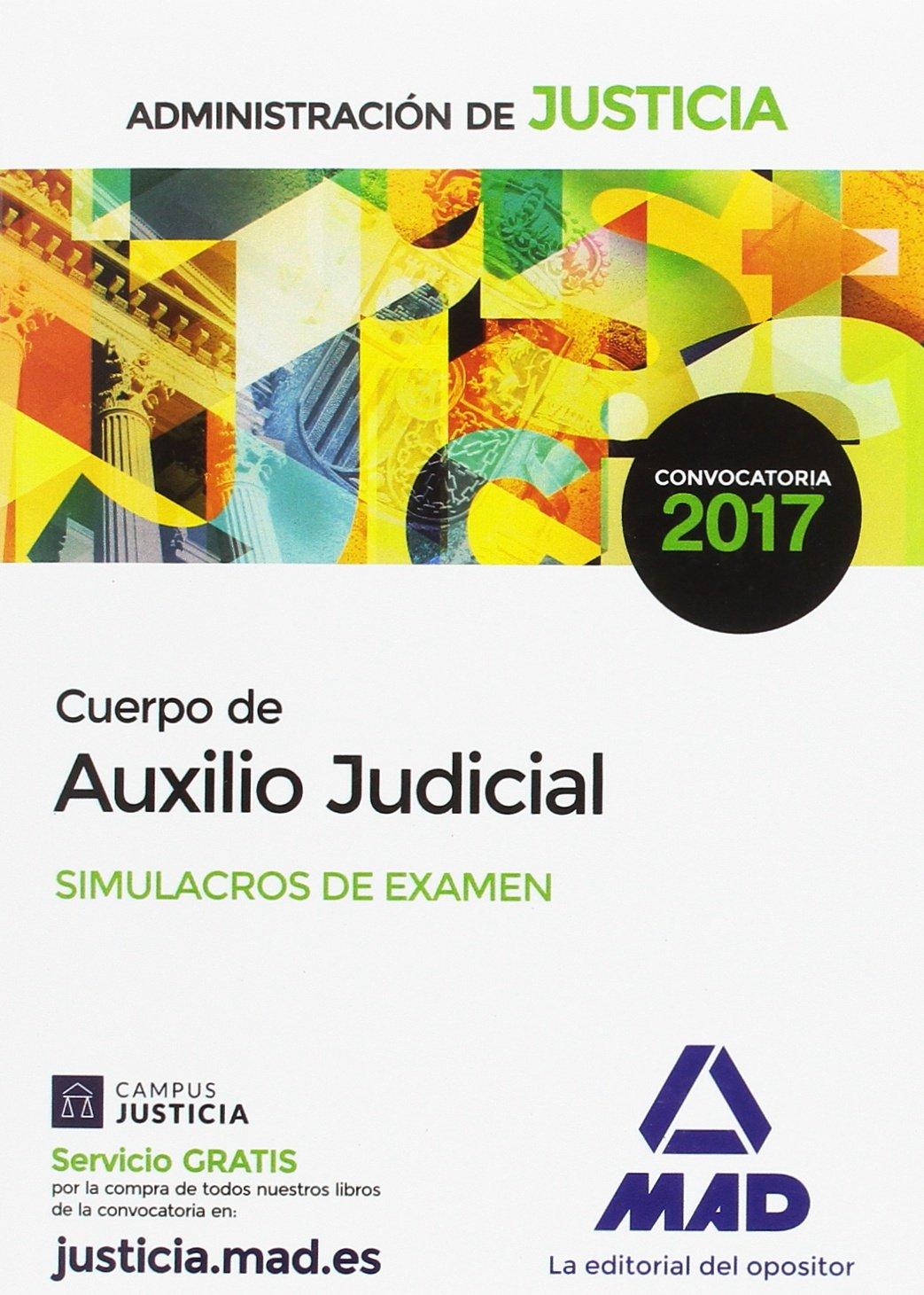 Download Cuerpo de Auxilio Judicial de la Administración de Justicia. Simulacros de Examen pdf epub