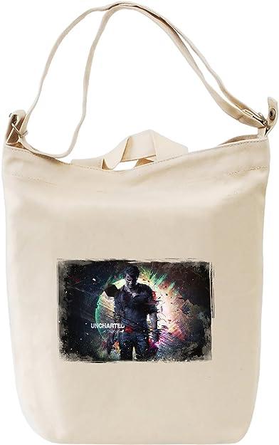6defc8a25bfb3 Uncharted a thief end nathan drake canvas day bag premium cotton canvas jpg  392x625 Nathan drake