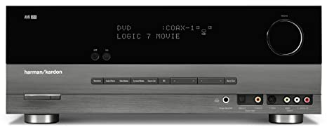 Harman Kardon AVR-254 7x50W 7.1-Channel Home Theater Receiver with HDMI 1.3a Repeater (Discontinued by Manufacturer)