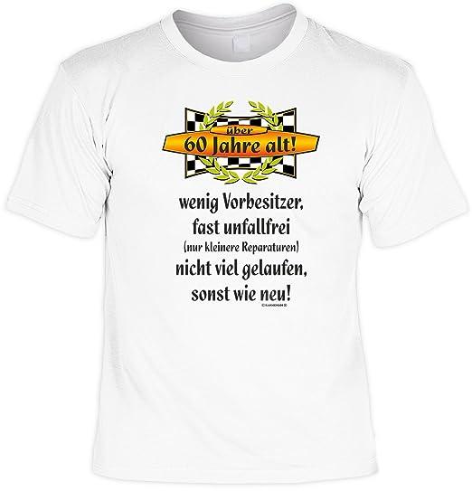 Über 60 Jahre alt Unfallfrei T-Shirt zum 60 Geburtstag