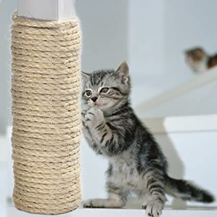 Amazon Com 1 Pc 10 M Multifunction Sisal Rope Diy Cat Toy Cat