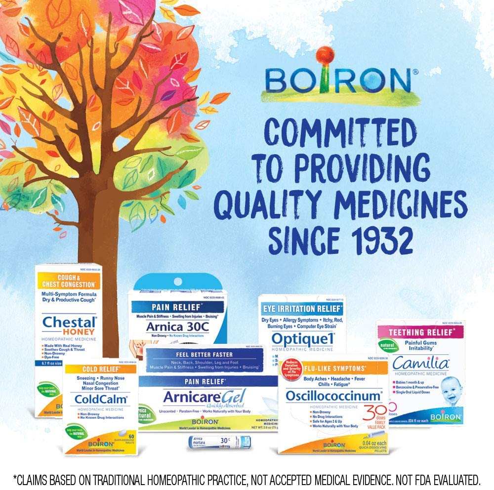 Boiron Arnicare Gel 4.1 Ounce (Pack of 1) Topical Pain Relief Gel: Health & Personal Care