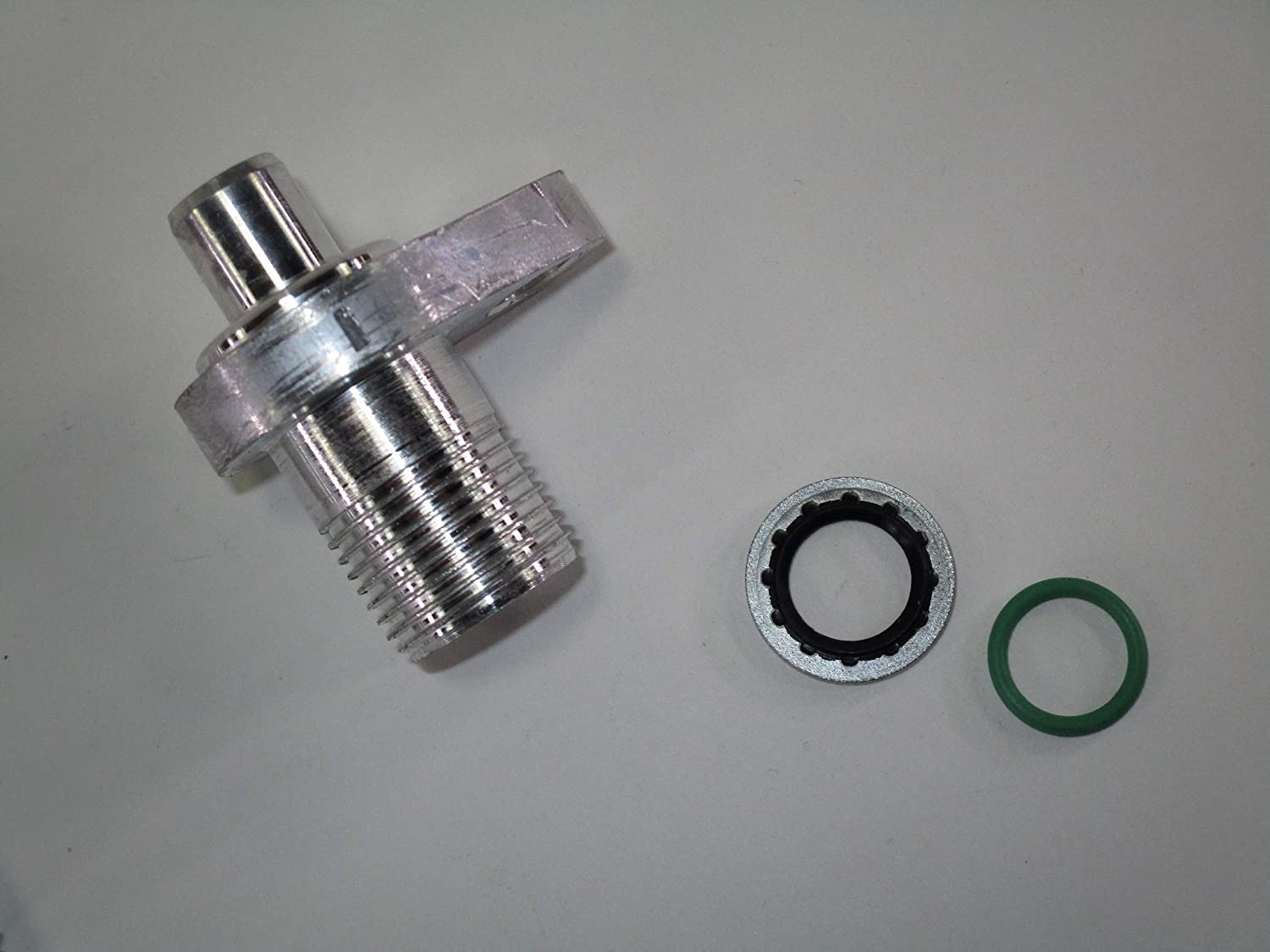 WARR Performance LS Swap AC Compressor adapter fittings for Denso 10S17F /& 10S20F