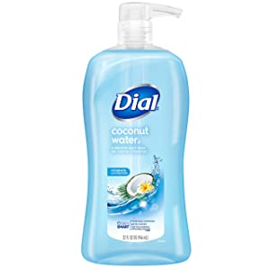 Dial Body Wash, Coconut Water, 32 Fluid Ounces