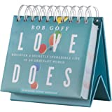 DaySpring Love Does, Bob Goff, Perpetual Flip Calendar, 366 Days of Scripture & Inspiration (88482)