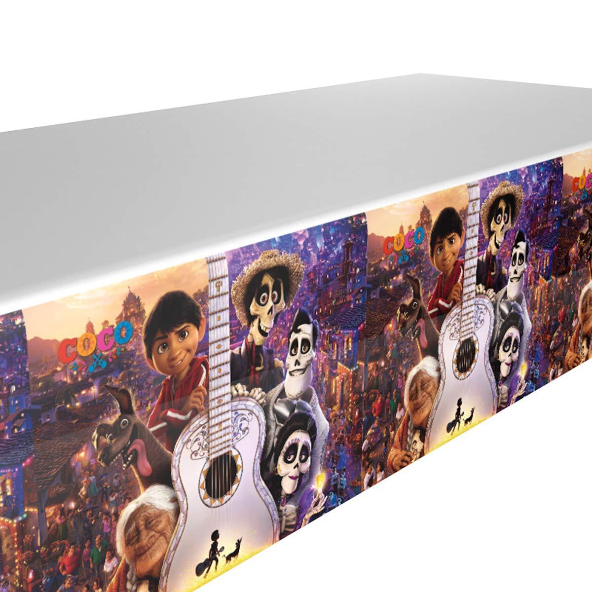 Amazon.com: COCO - Mantel de fiesta temático de 90 x 50 ...