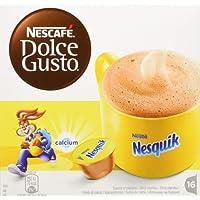 NESCAFÉ DOLCE GUSTO NESQUIK Bevanda al gusto di cioccolato 3 confezioni da 16 capsule (48 capsule)