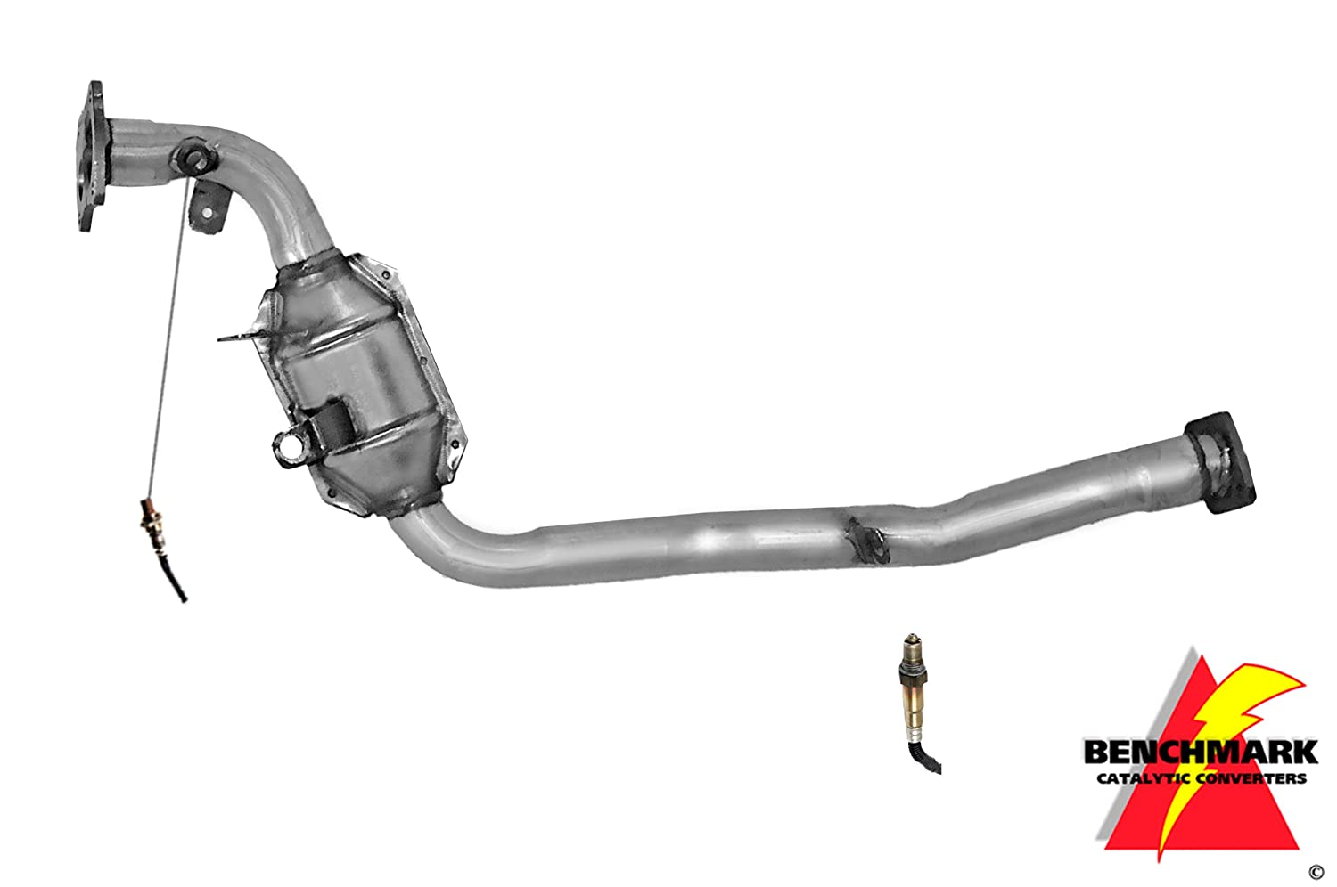 Benchmark BEN3004 Direct Fit Catalytic Converter Non CARB Compliant