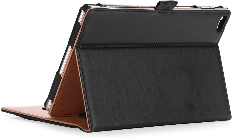 "ProCase Lenovo Tab 4 8 Case - Stand Folio Case Protective Cover for Lenovo Tab 4 8"" Tablet 2017 Release ZA2B0009US -Black"