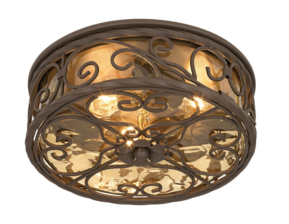 Casa seville 12 wide walnut indoor outdoor ceiling light flush casa seville 12 wide walnut indoor outdoor ceiling light flush mount ceiling light fixtures amazon mozeypictures Image collections