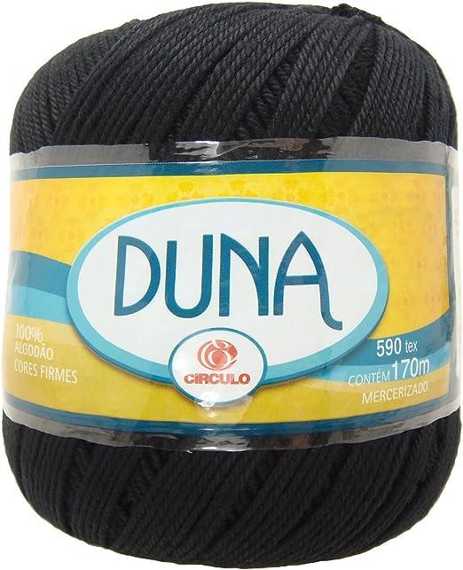 Hilo grueso de algodon color Negro. Para crochet y tejer (100g ...