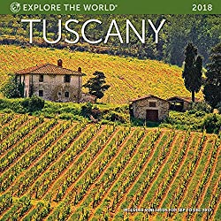 Tuscany Wall Calendar 2018
