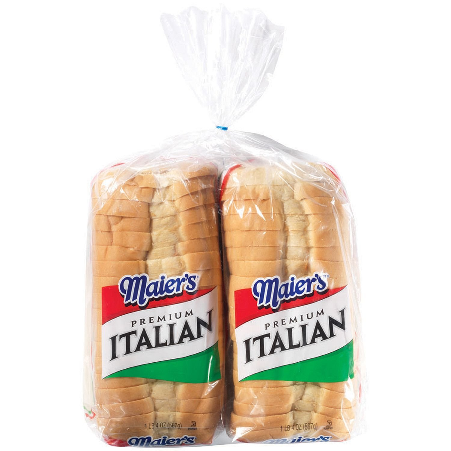 Amazon Com Maier S Italian Style Bread 20 Oz 2 Pk Grocery Gourmet Food