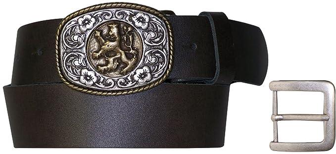 FRONHOFER Cinturón económico para traje, para señor, hebilla ...