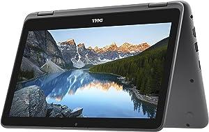 "2018 Flagship Dell Inspiron 11.6"" Business 2 in 1 HD Touchscreen Laptop/Tablet - AMD Dual-Core A6-9220e 4GB DDR4 32GB eMMC AMD Radeon R4 MaxxAudio Bluetooth 802.11bgn HDMI HD Webcam USB 3.1 Windows 10"