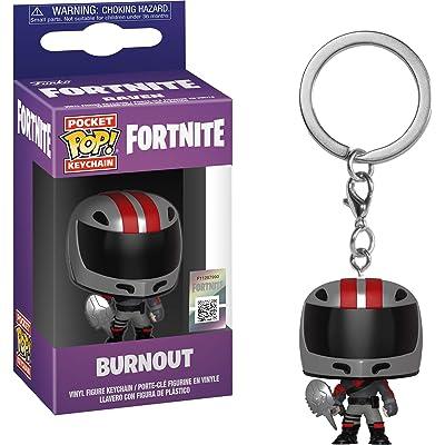 Funko POP! Keychain: Fortnite - Burnout: Toys & Games