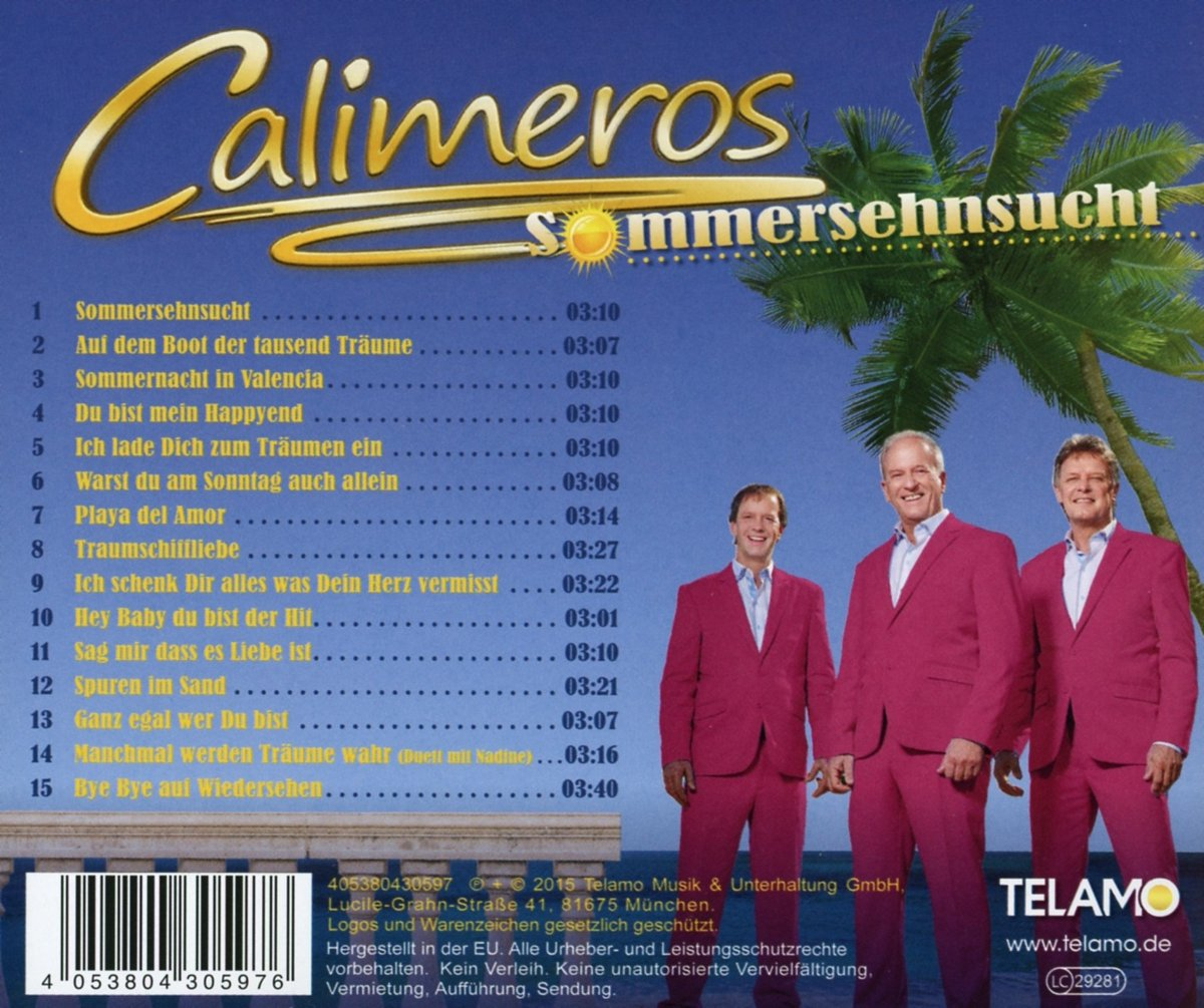 calimeros sommersehnsucht