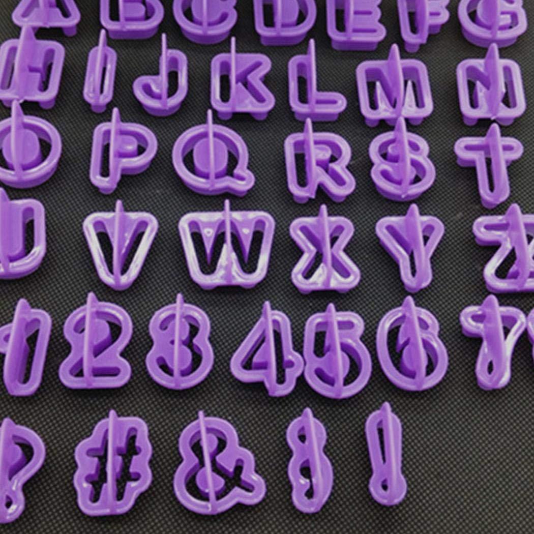 Anstsy Fai da te creativo torta fondente numerale lettera simbolo cookie muffa cucina cuocere strumento Stampi con forme particolari