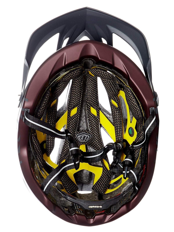 2018 Troy Lee Designs A2 MIPS Decoy Bicycle Helmet-Gray//Sangria-XS//S 191485801