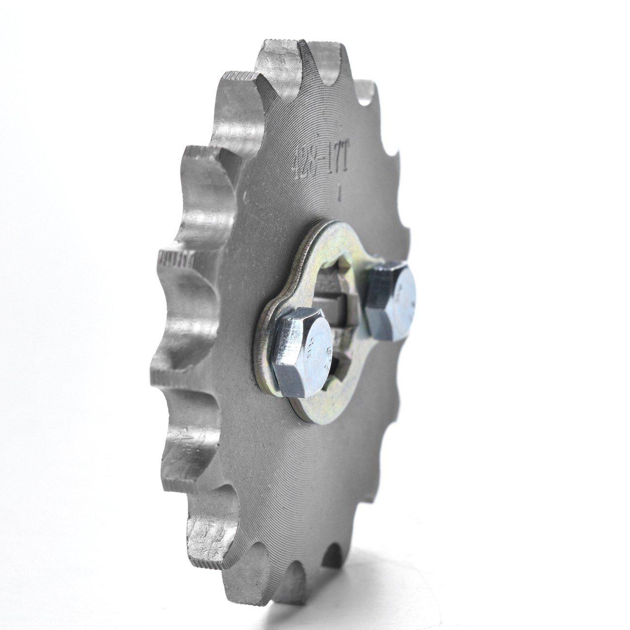 ZXTDR Engine Chain Sprocket 428-17T 17mm 17 Teeth for Dirt Pit Bike