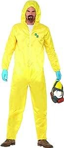 SmiffyS 20498L Disfraz De Breaking Bad Con Buzo De Protección ...