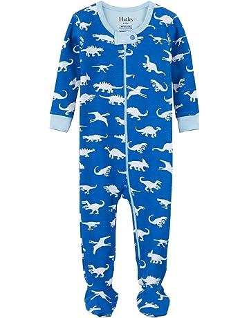 95ce32f700 Hatley Organic Cotton Footed Sleepsuit Pigiama Bimbo