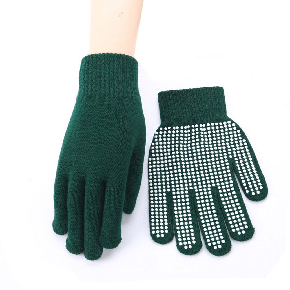 Aodewe Winter Warm Mens And Womens Gloves Outdoor Riding And Climbing Wool Knitting Gloves