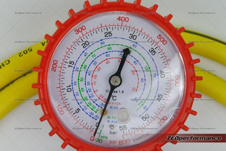 R600 A refrigeración nevera congelador R410 A R134 A recarga gas ...