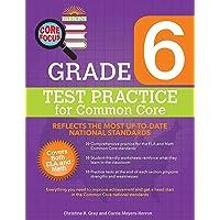 Barron's Core Focus Grade 6: Test Practice for Common Core
