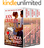 Love Dances in the Desert: Three Jackrabbit Junction Sexy Mysteries