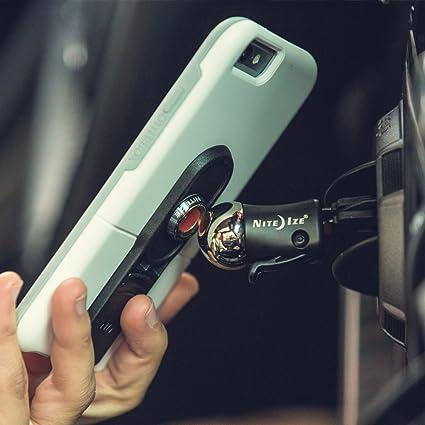 new product 6d39d 719a2 Amazon.com: OtterBox uniVERSE iPhone 6/6s Plus Case Black + Nite Ize ...