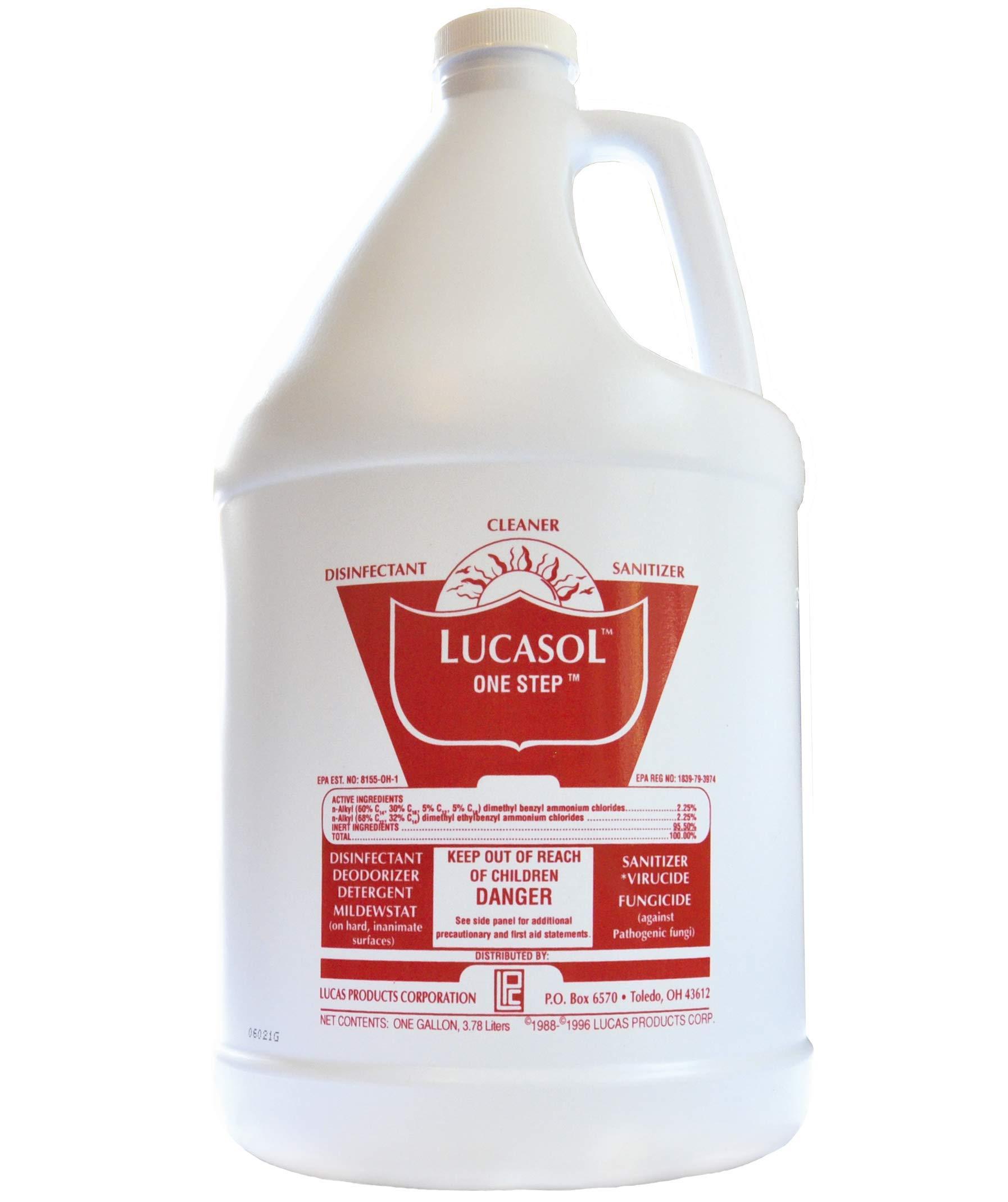 LUCASOL ONE Step Hospital Grade Disinfectant (Gallon)