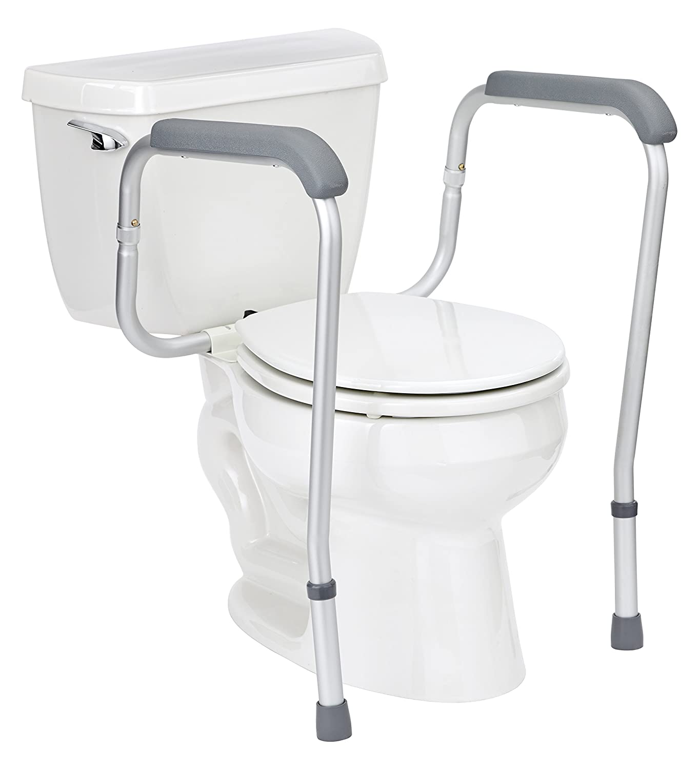 Amazon.com: Medline Toilet Safety Rails, Safety Frame for Toilet ...